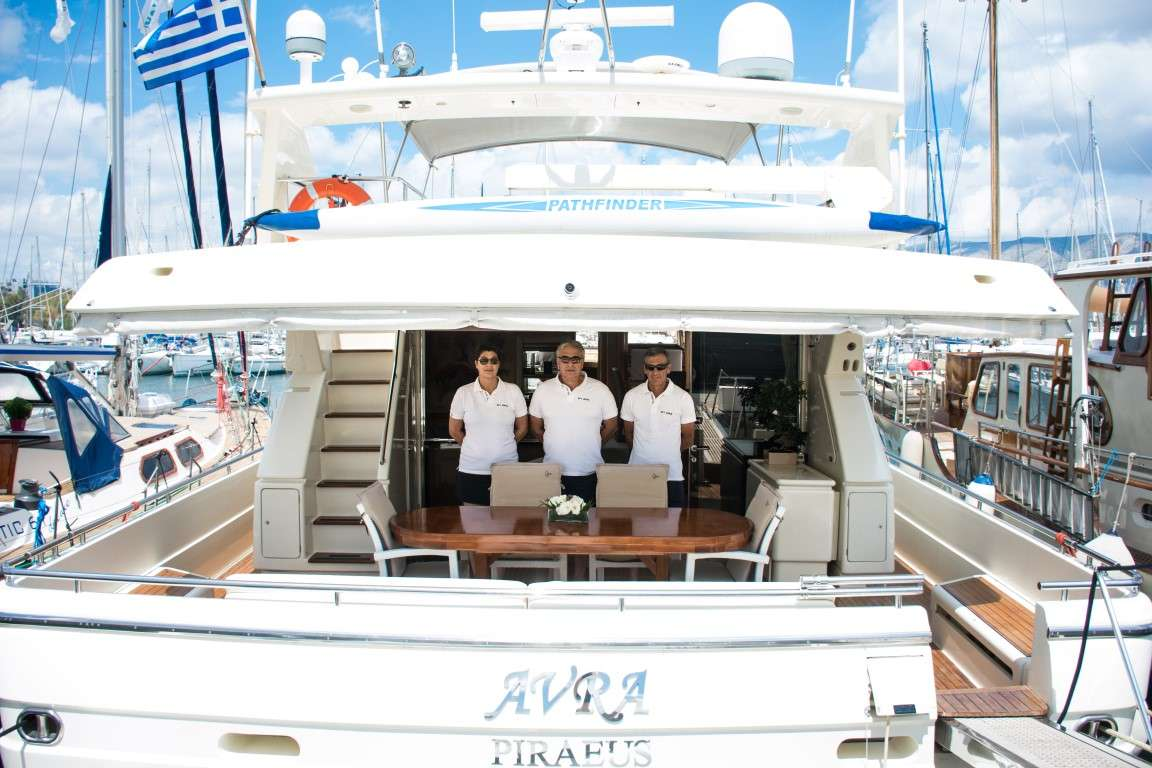 motor yacht AVRA