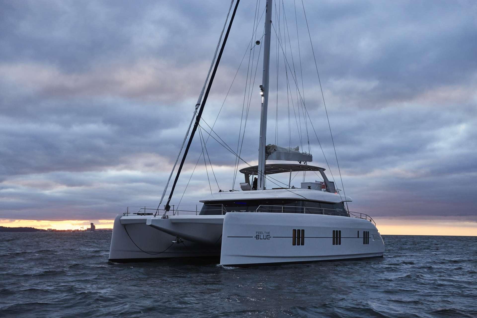 Catamaran Charter Feel The Blue