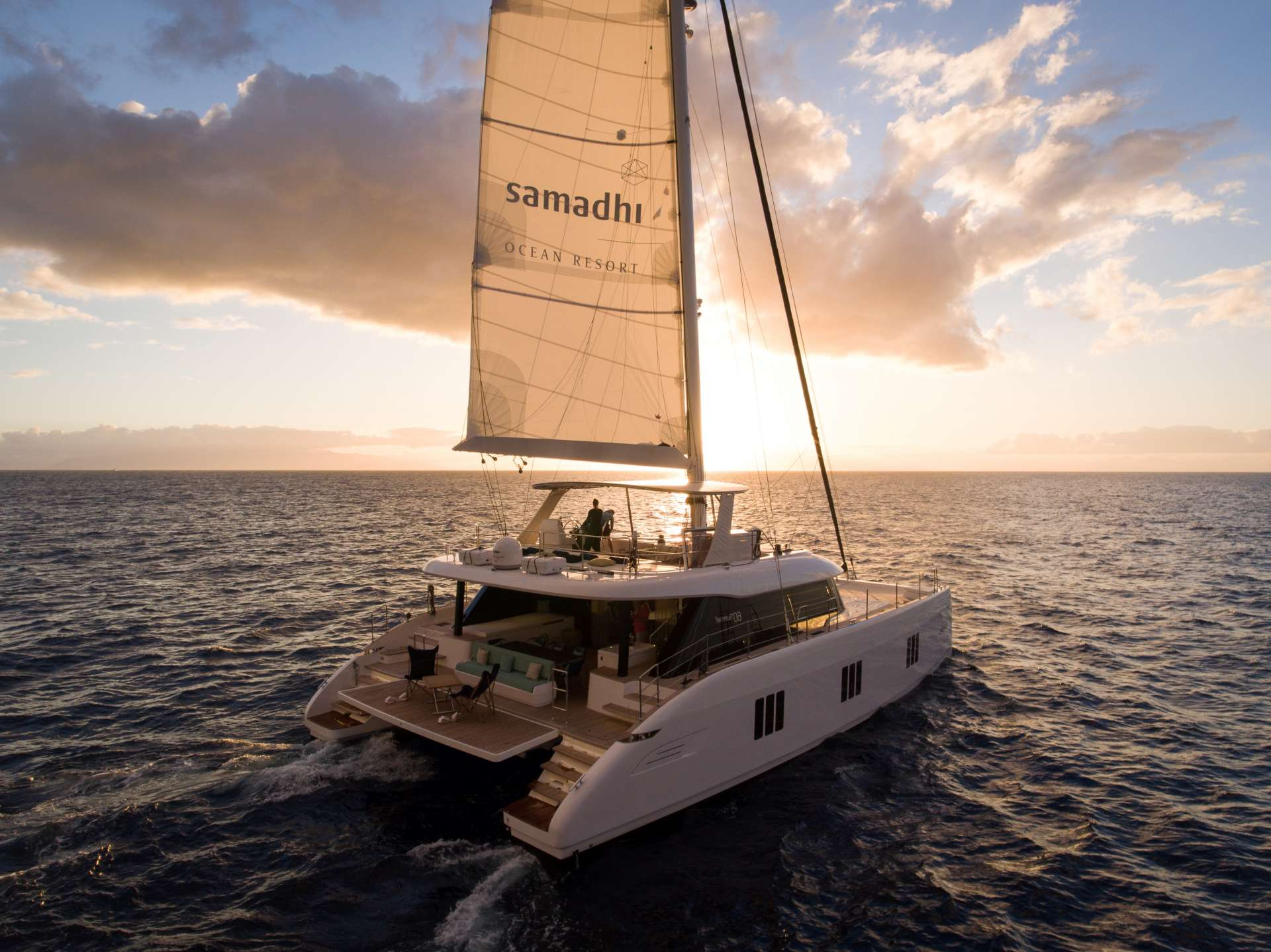 Catamaran Charter Samadhi