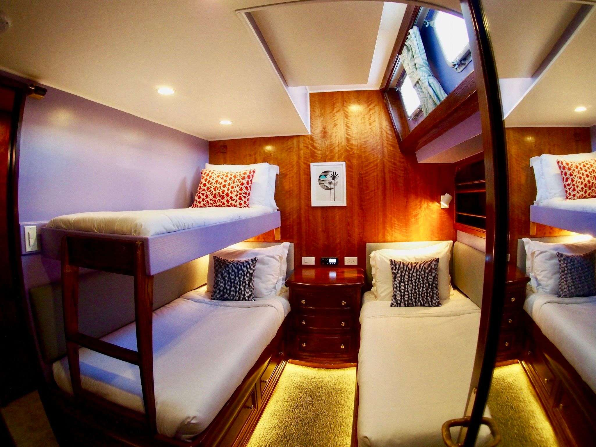 Starboard state room