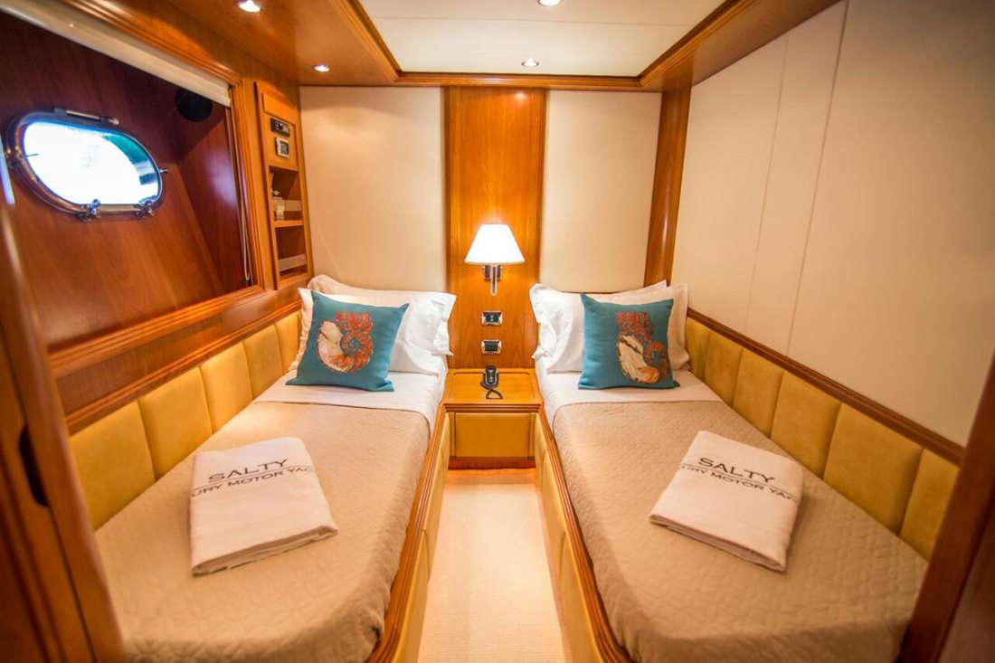 motor yacht SALTY