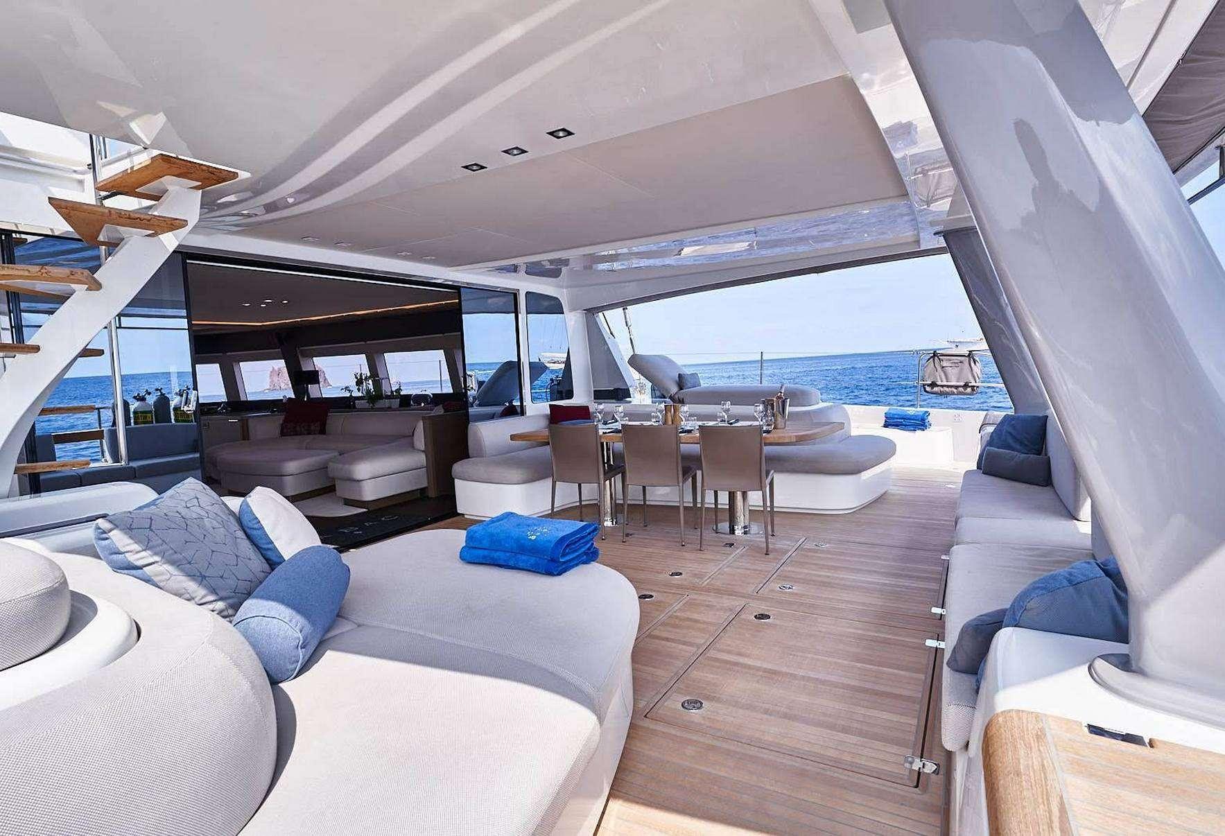 Catamaran Charter Babac