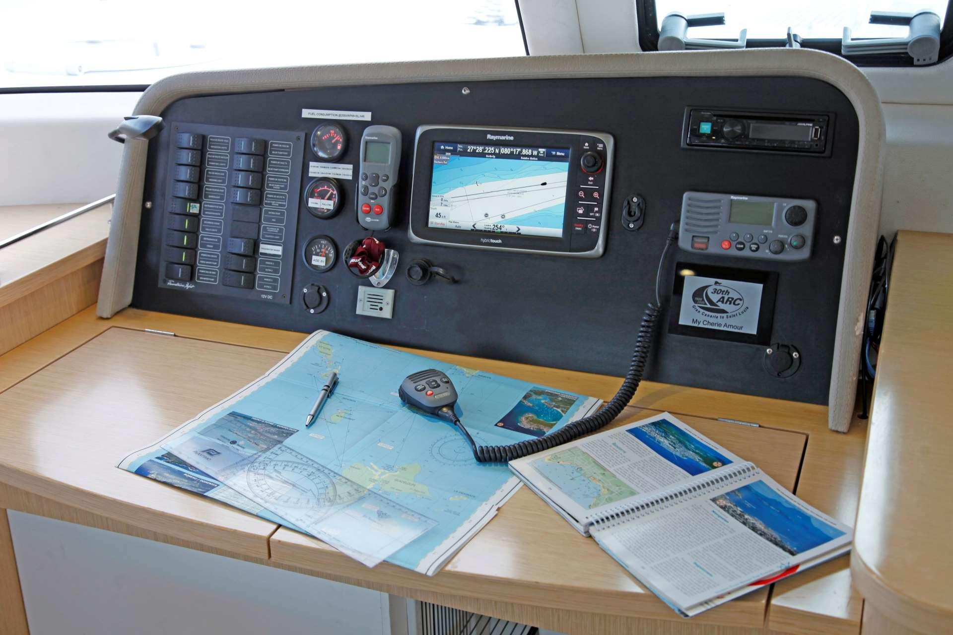 Catamaran Charter My Cherie Amour