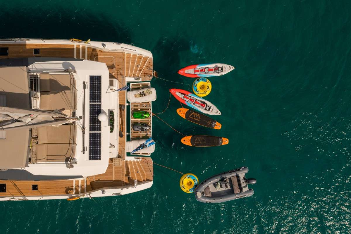 Catamaran Charter Number One