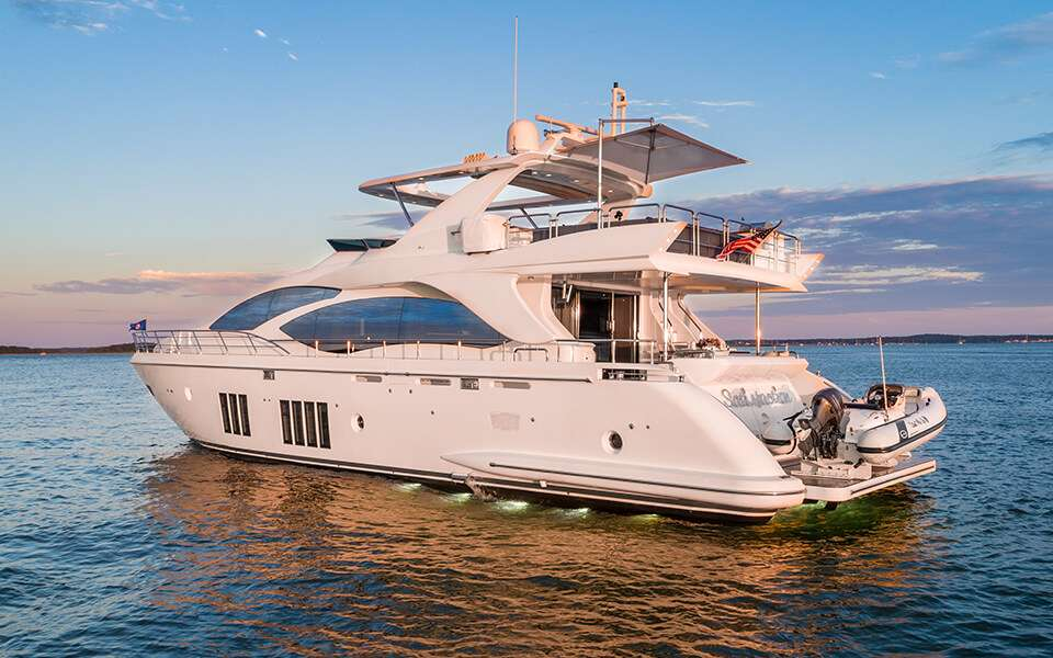 motor yacht Satisfaction