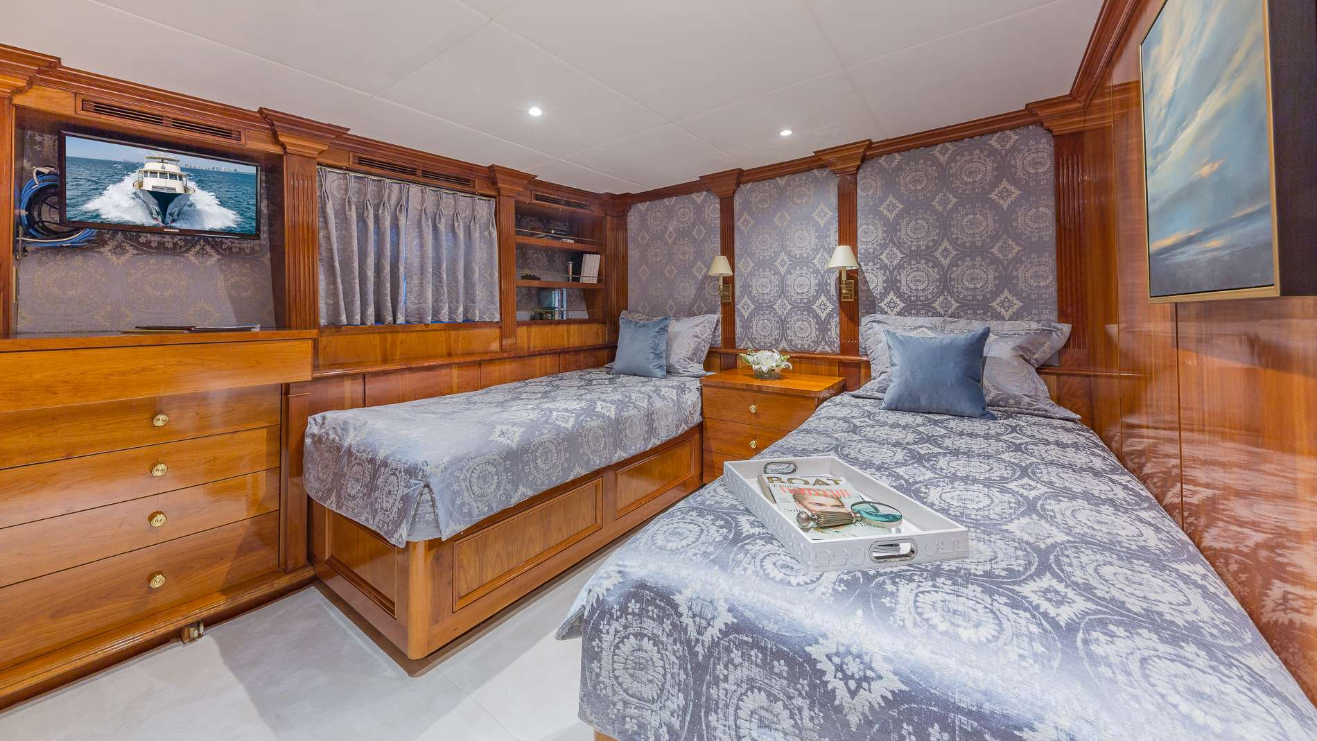 Guest Twin Stateroom (Convertible Beds)
