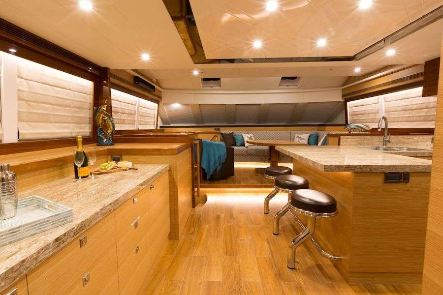 Saloon and Galley