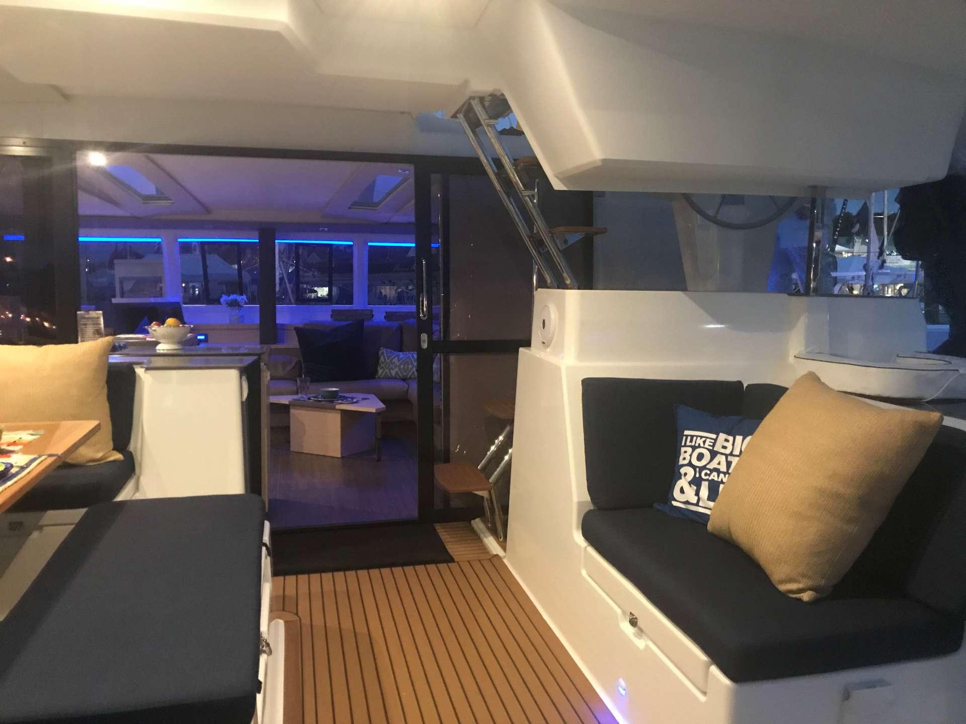 cockpit lounging area