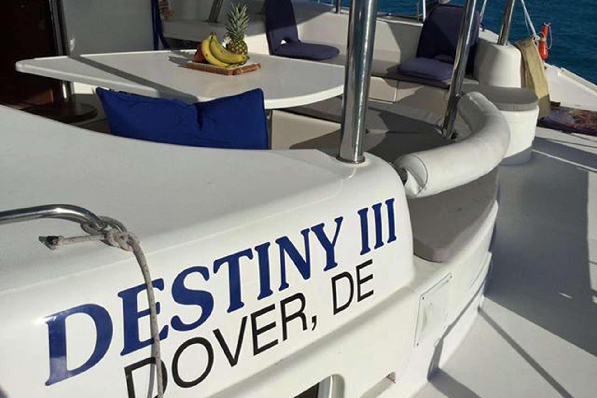 Catamaran Charter Destiny Iii