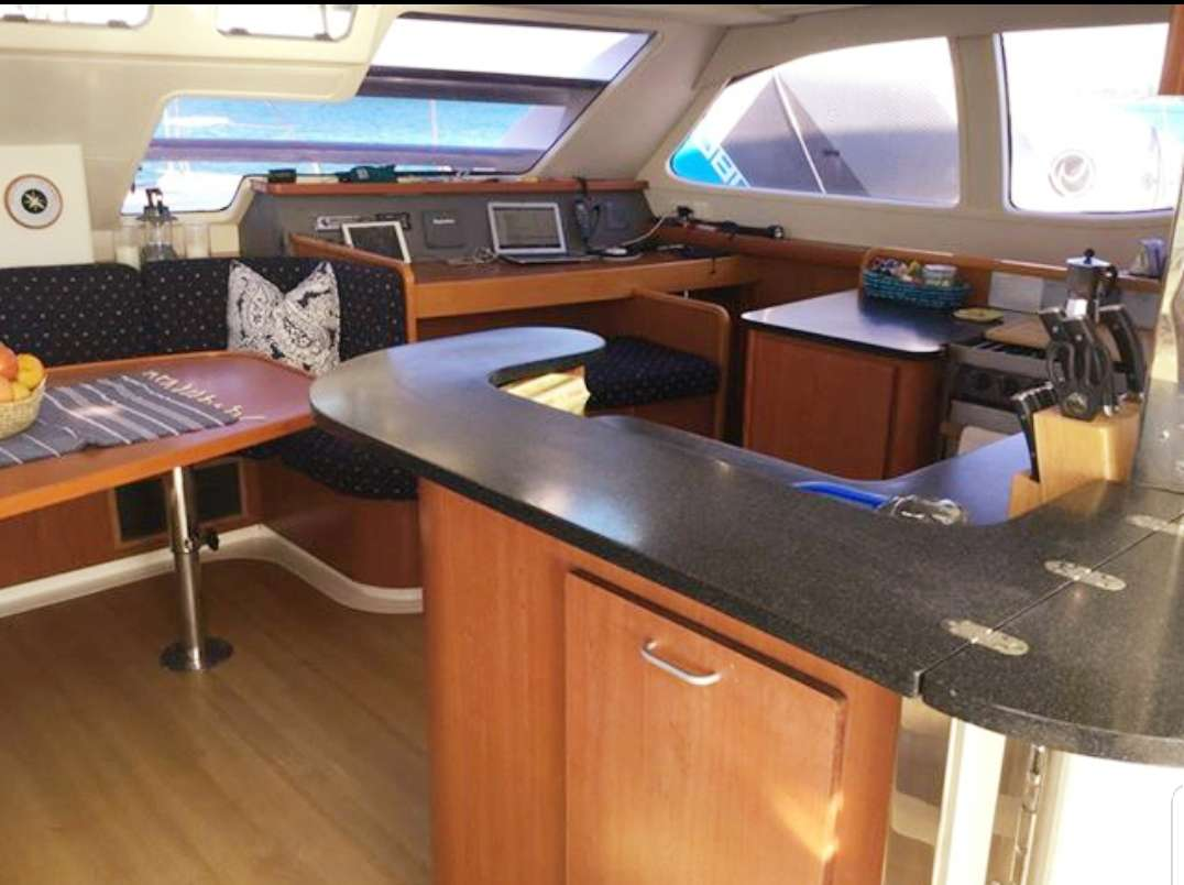 Galley and Nav Table