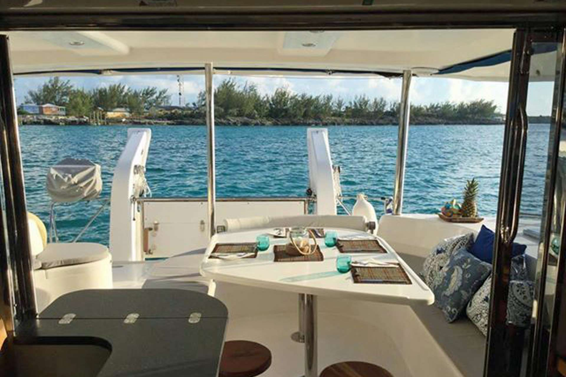 Beautiful Views from the Aft Deck