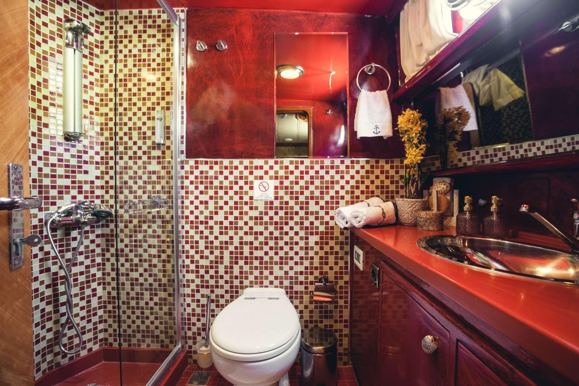 Bathroom of the Master Cabin