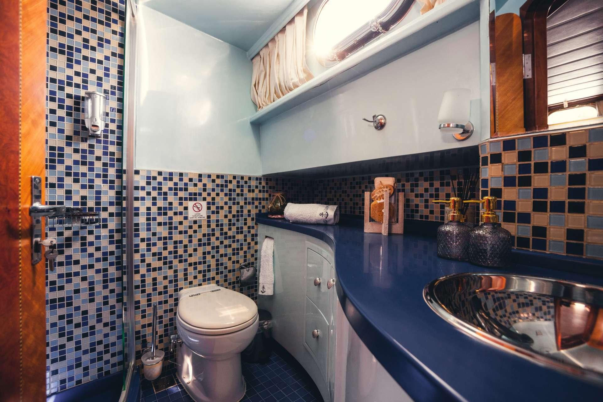 Bathroom of the VIP cabin