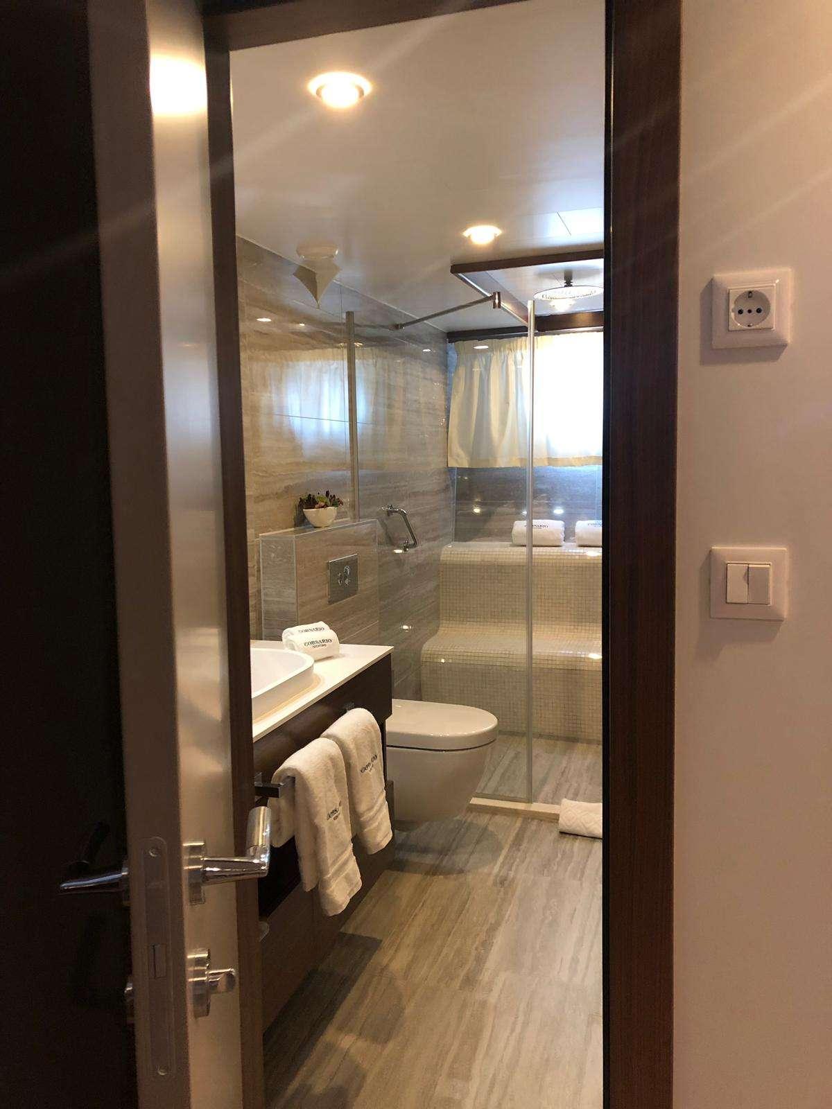 VIP Cabin bathroom