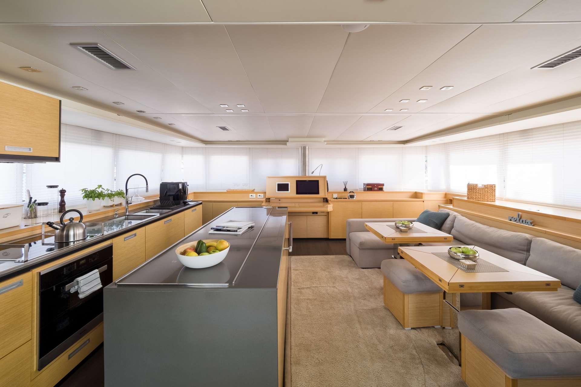 Catamaran Charter Twin
