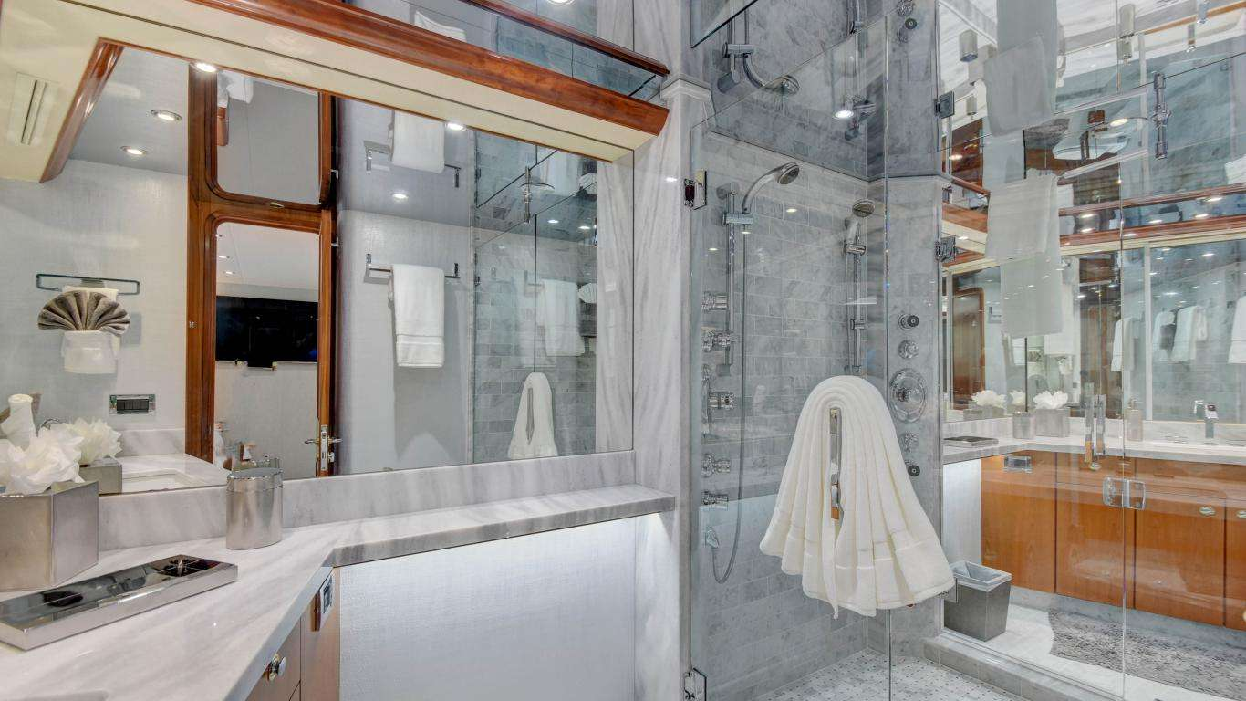 His and Hers Master bath