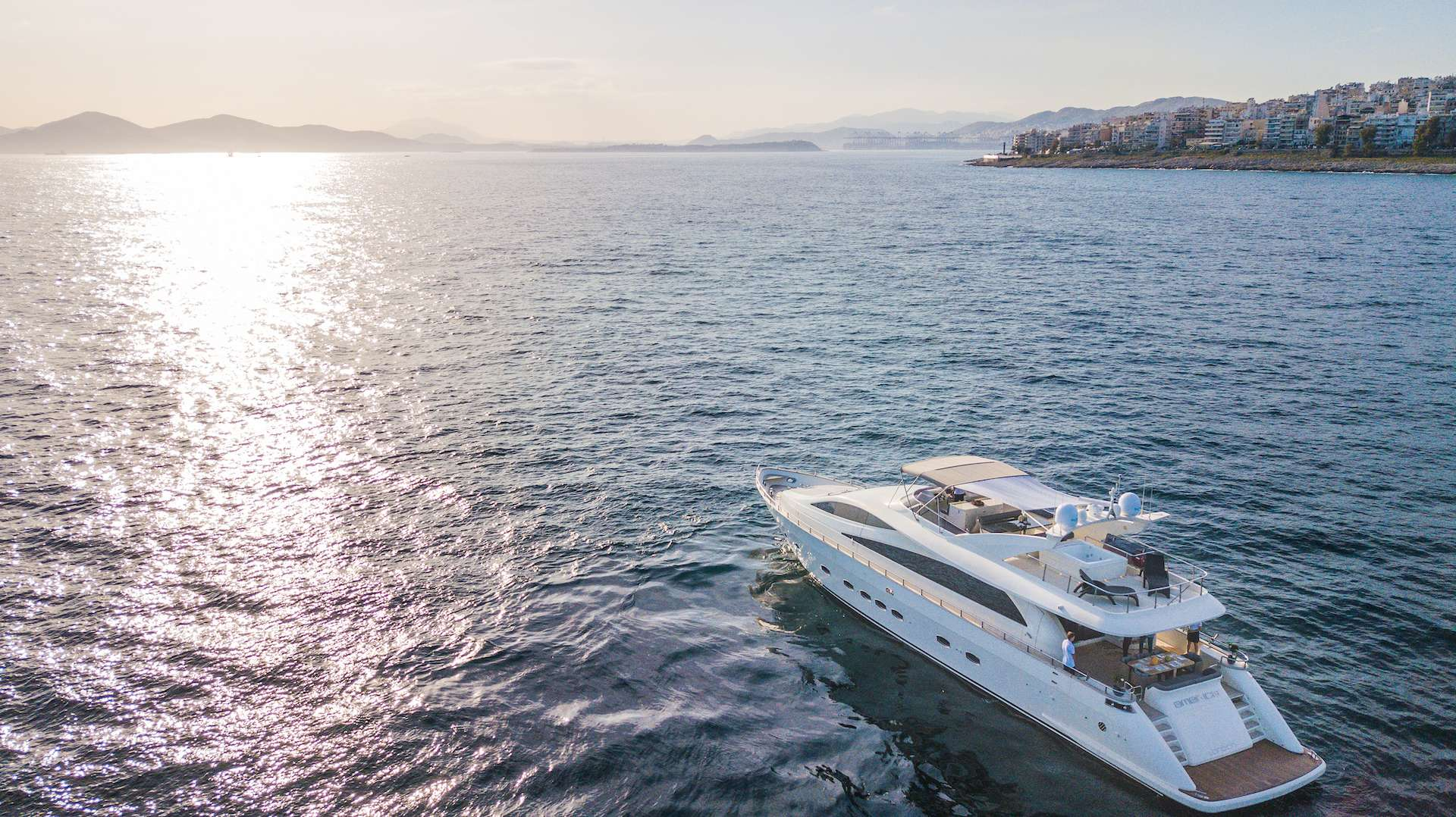 motor yacht Amer-ica