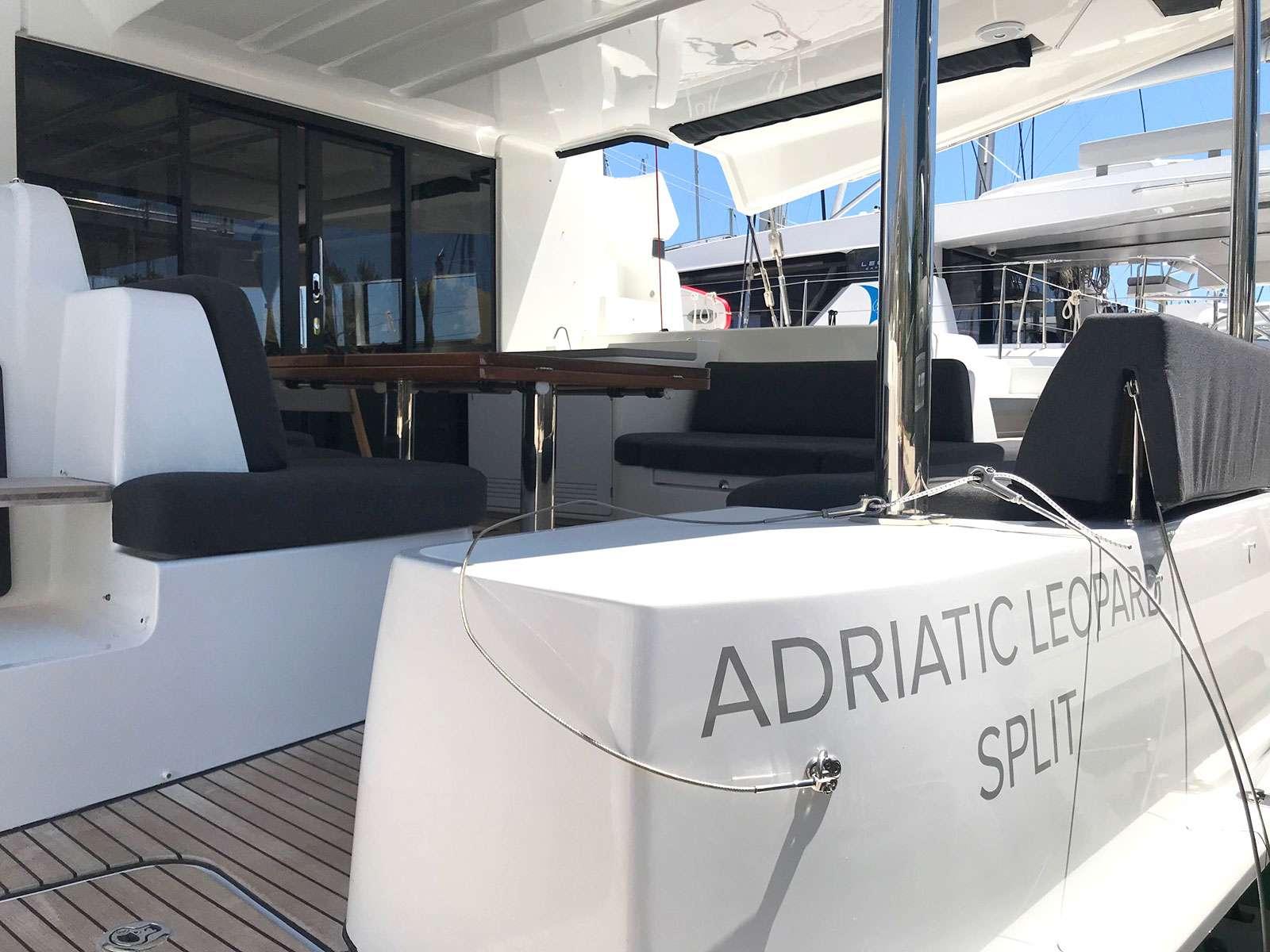 Catamaran Adriatic Leopard (lagoon 50)