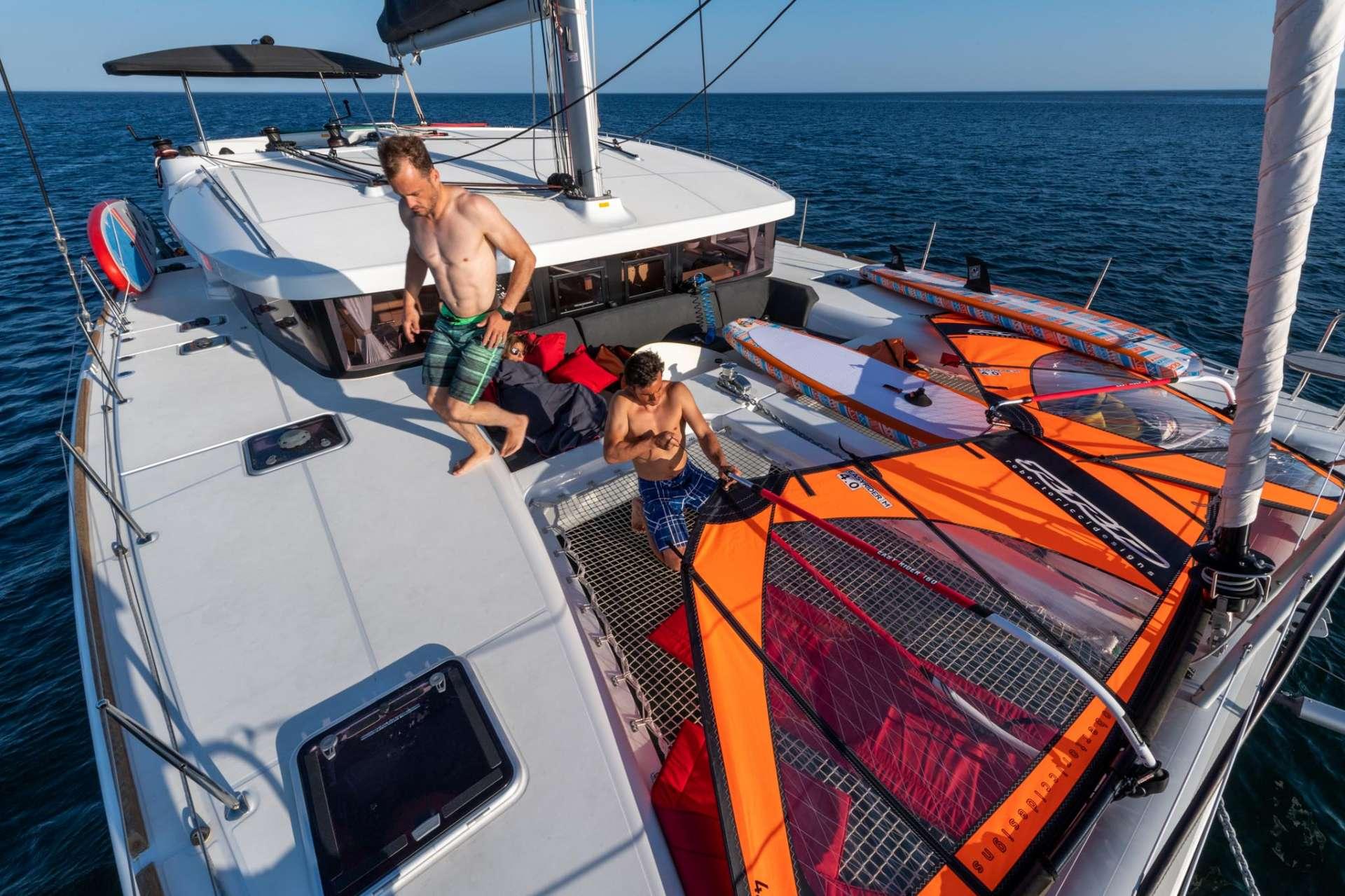 Catamaran Charter Lufinha
