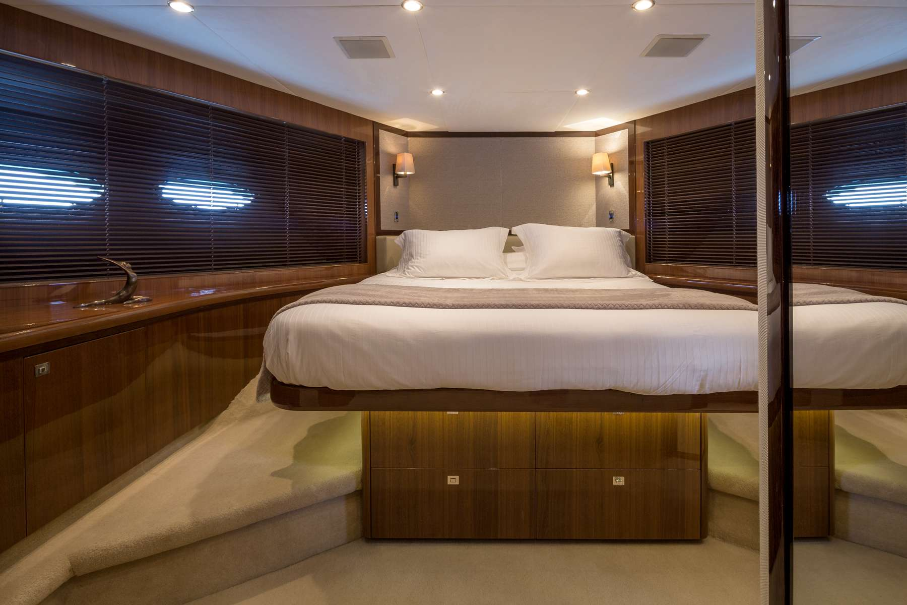 VIP cabin with King bed