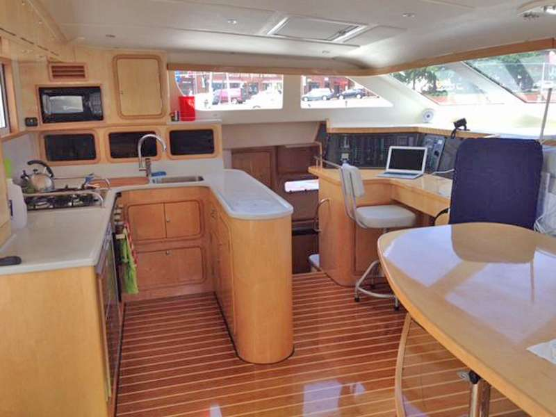 Main Salon and Galley