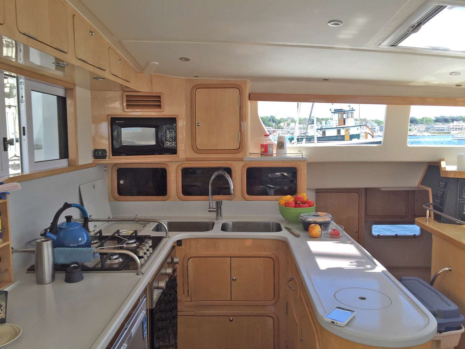 Fully Equipped Galley