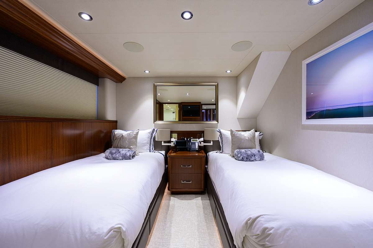Twin Guest Stateroom Starboard