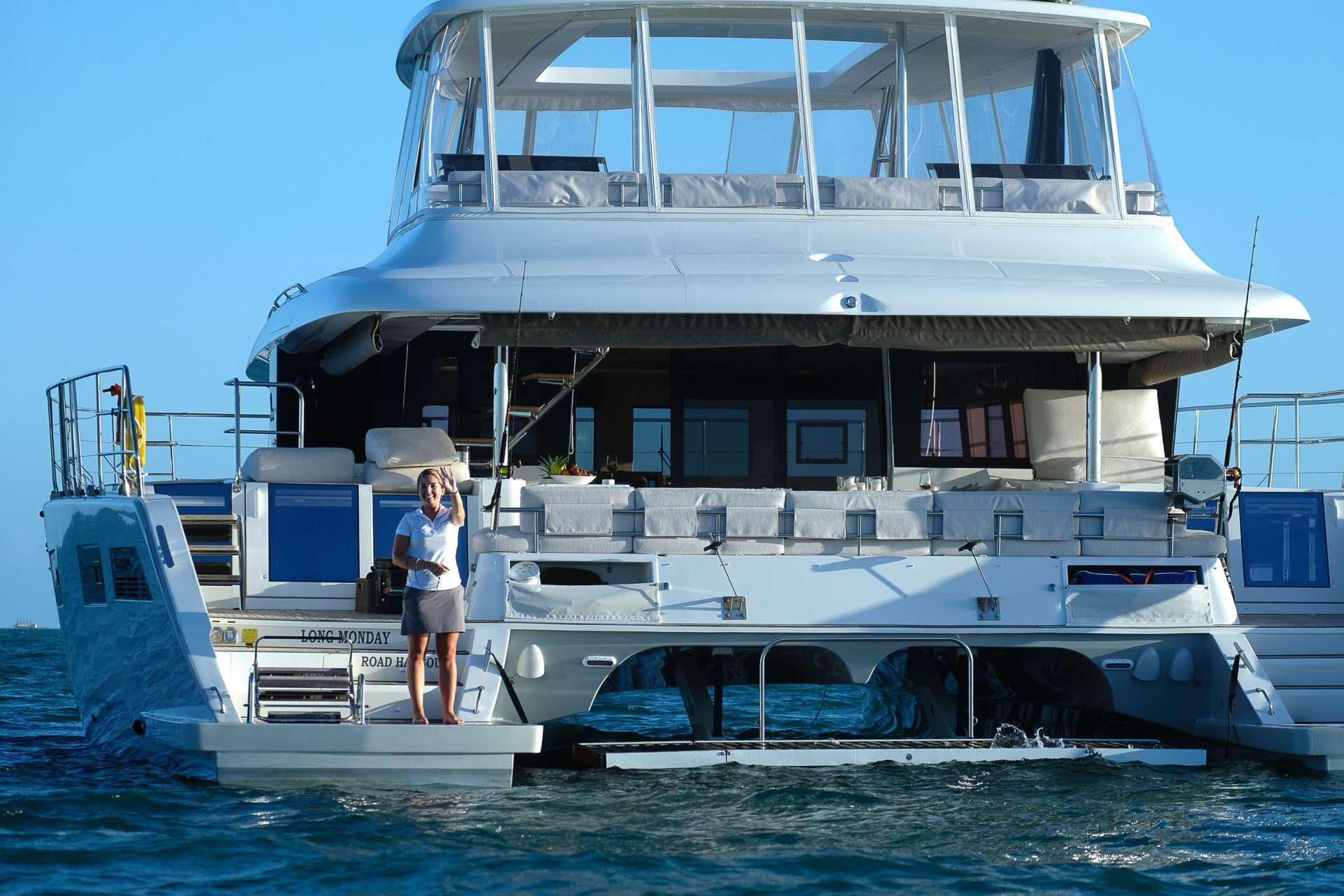 Catamaran Charter Long Monday