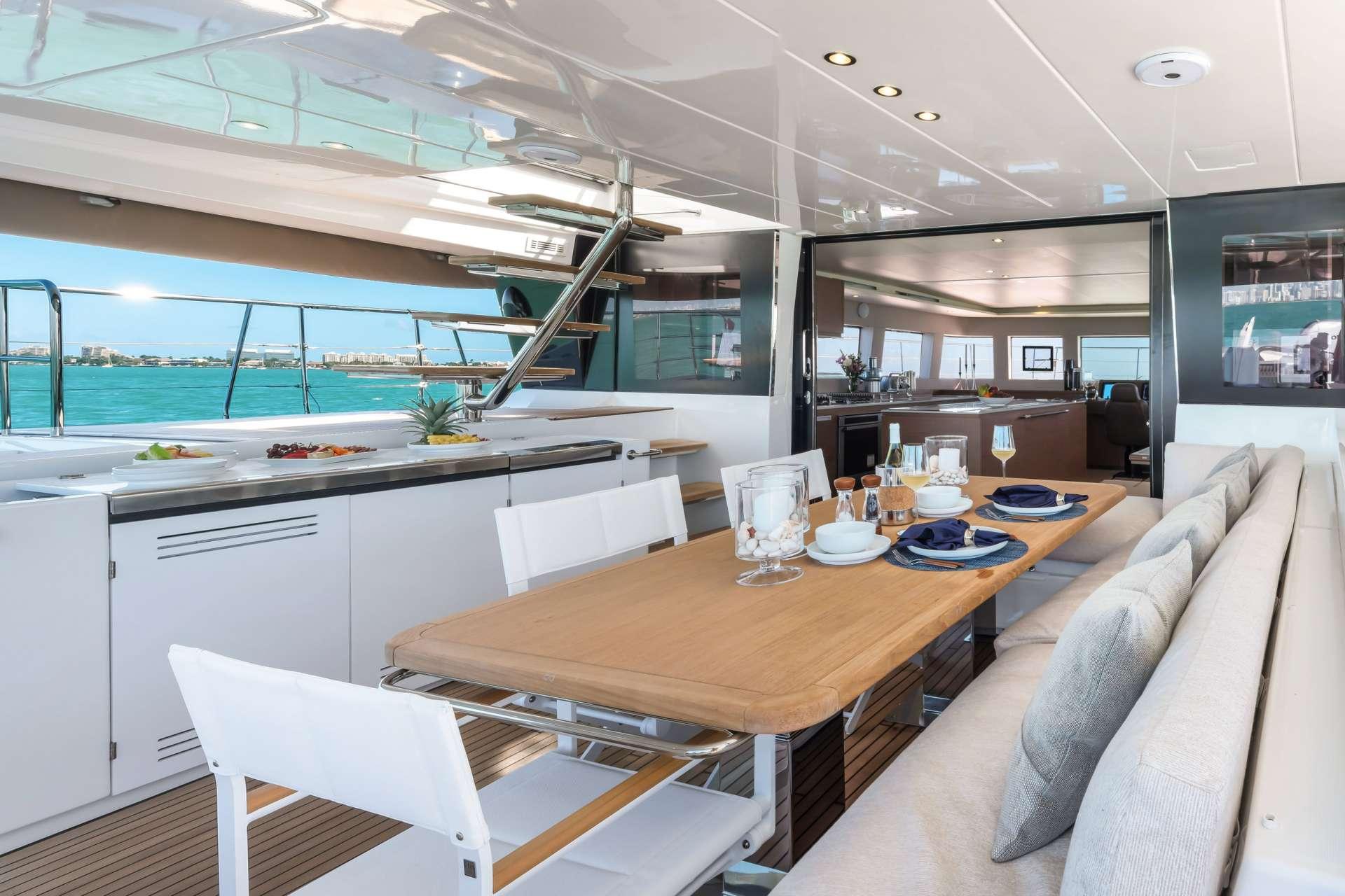 Yacht charter Long Monday