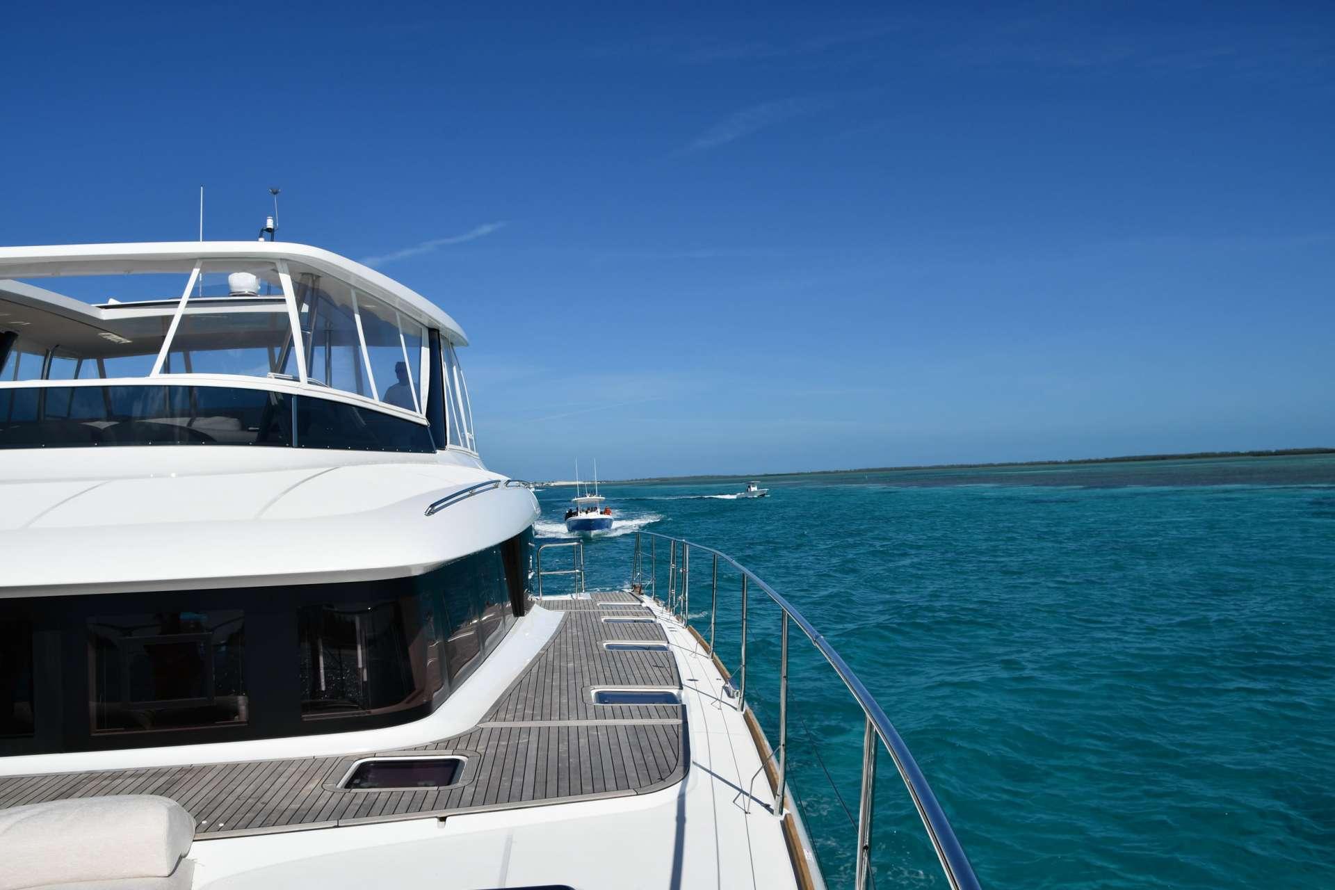 Sailing Yacht Long Monday