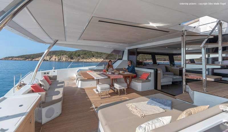 Sailing Yacht Black Cat