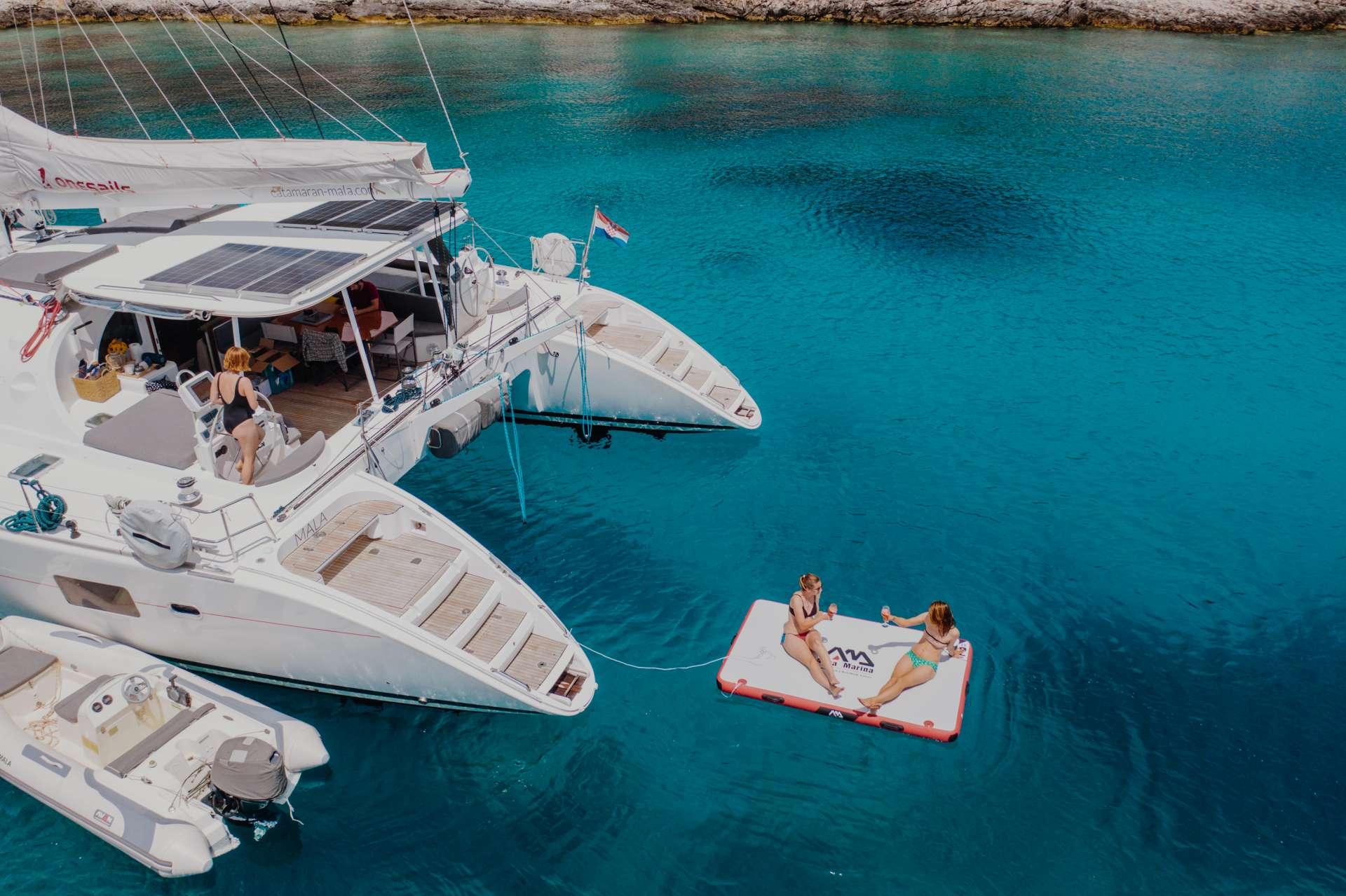 Catamaran Charter Mala