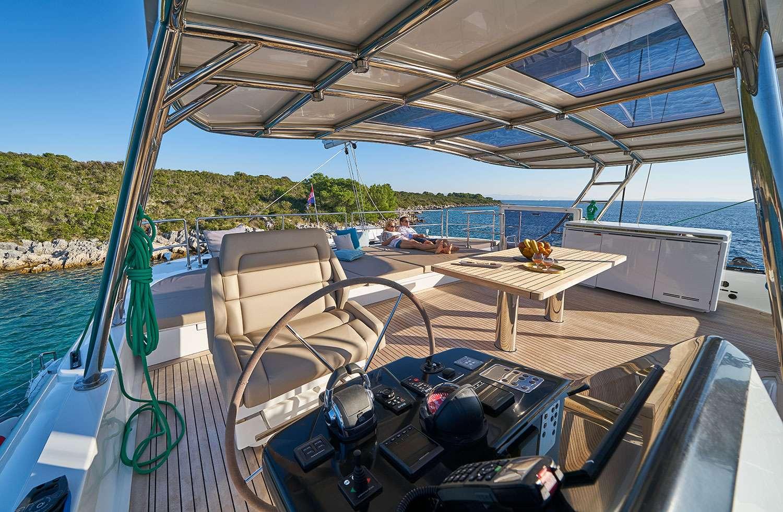 Catamaran Charter Sinata (sunreef 60)