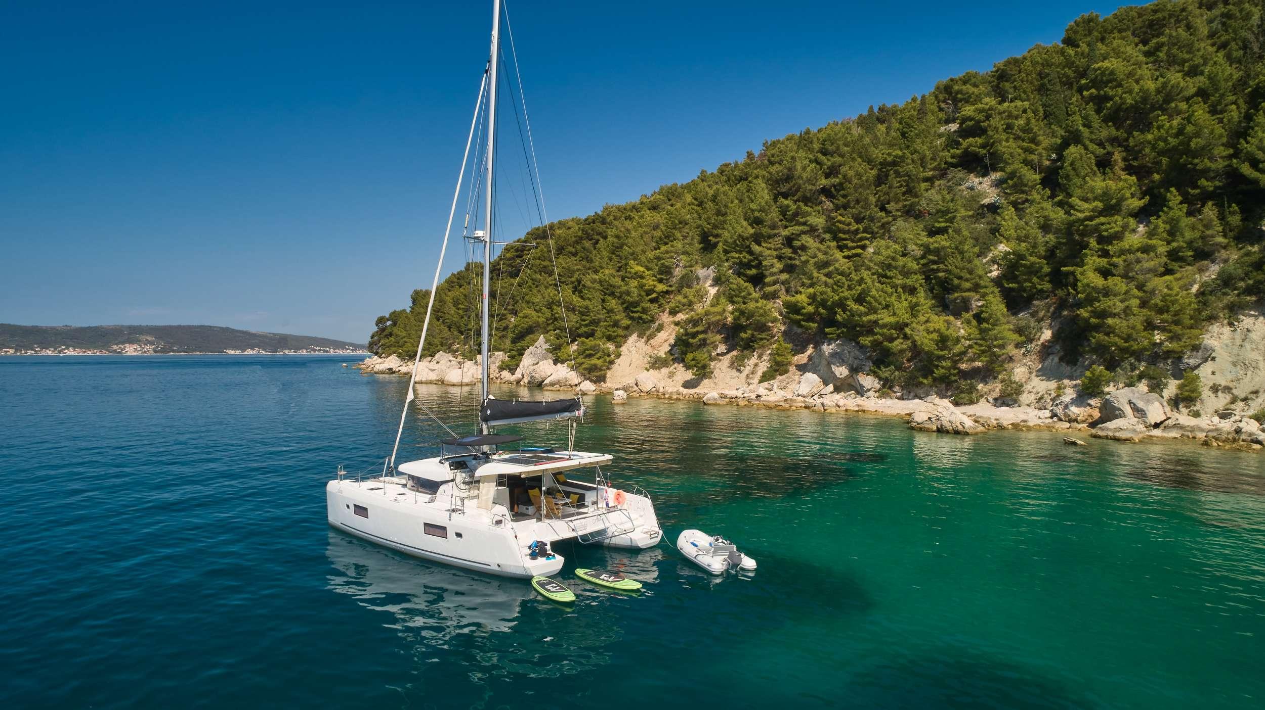 Catamaran Charter Aura