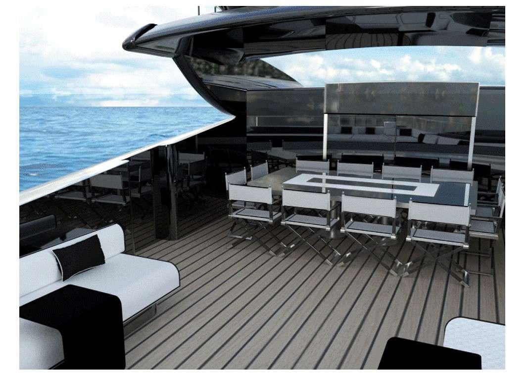 Upper deck dining New