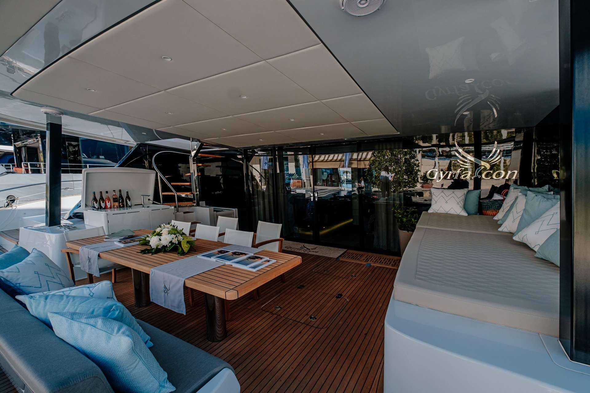 Catamaran Charter Gyrfalcon