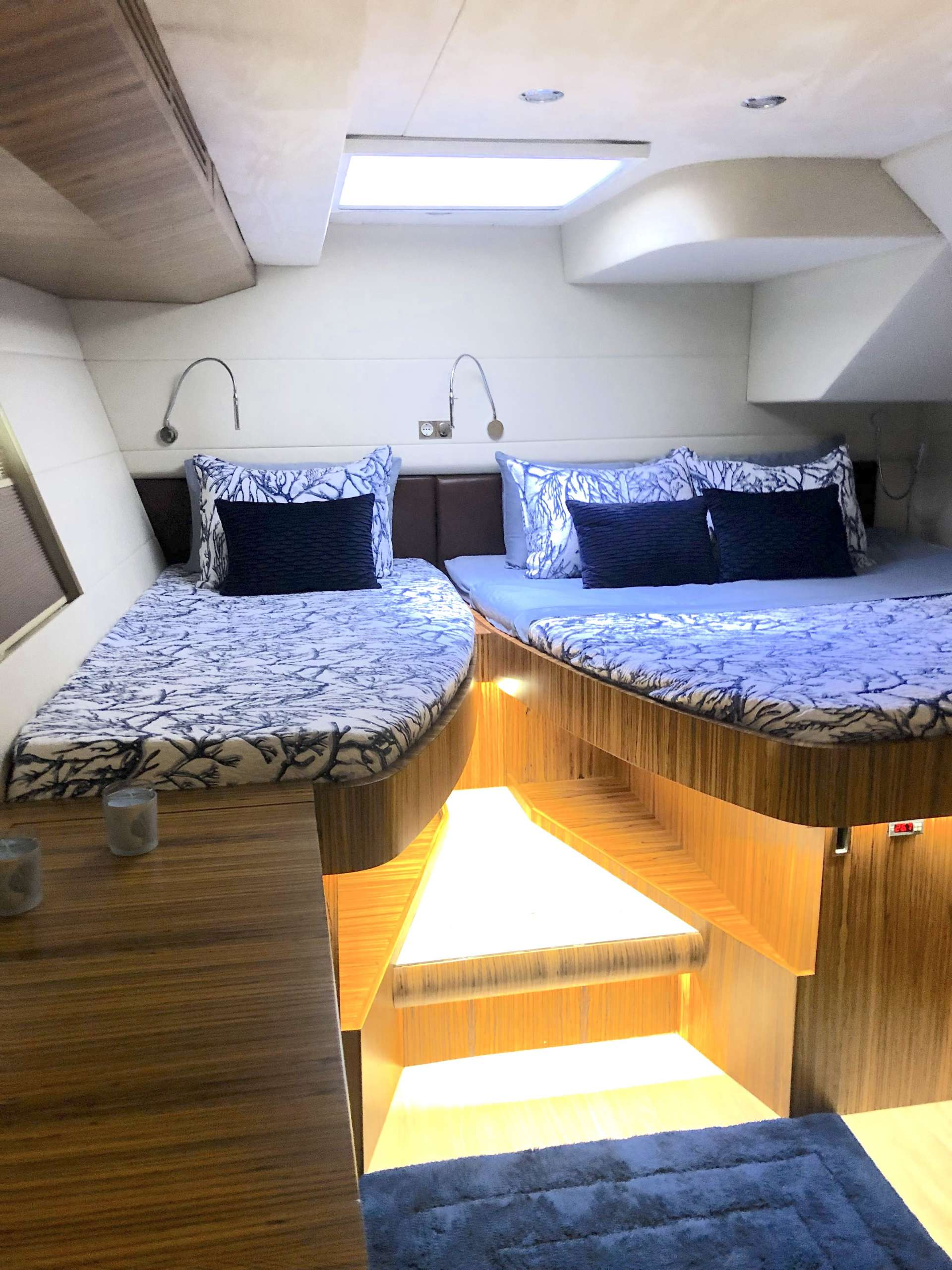 King bed with single bed