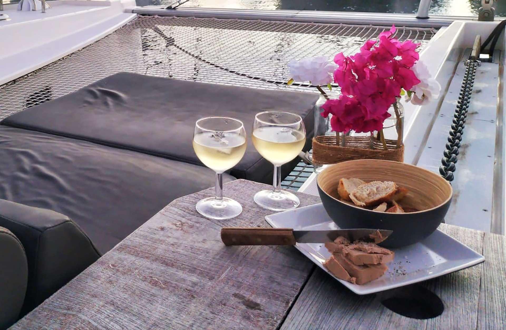 Aft deck steering