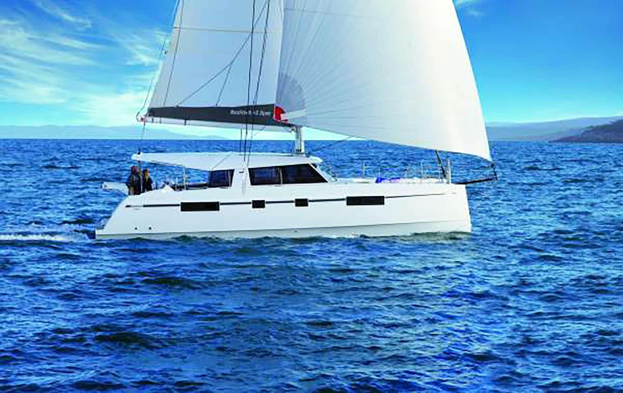 Enjoy sailing in the Caribbean!