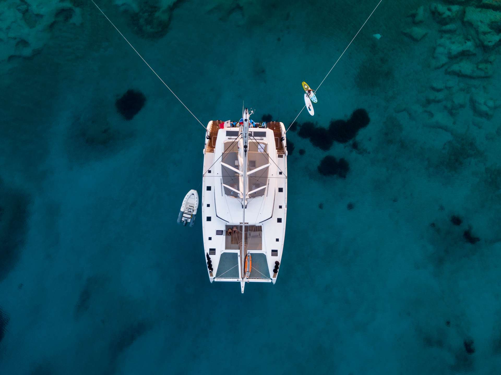 Catamaran Charter Serenissima