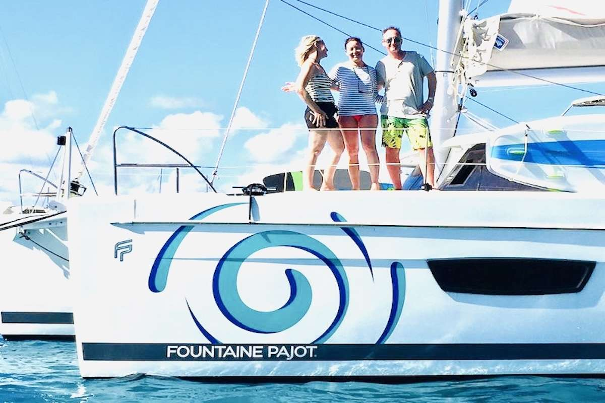 Catamaran Charter Eddies In Time