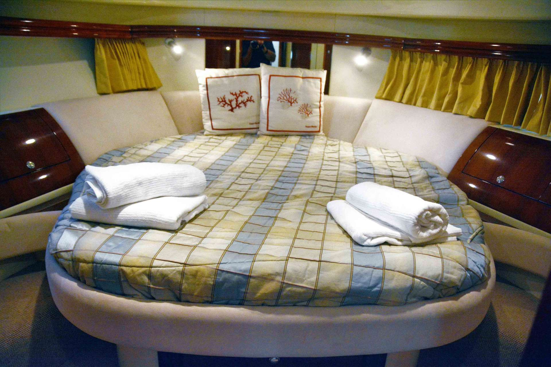 Master cabin, with en suite bathroom