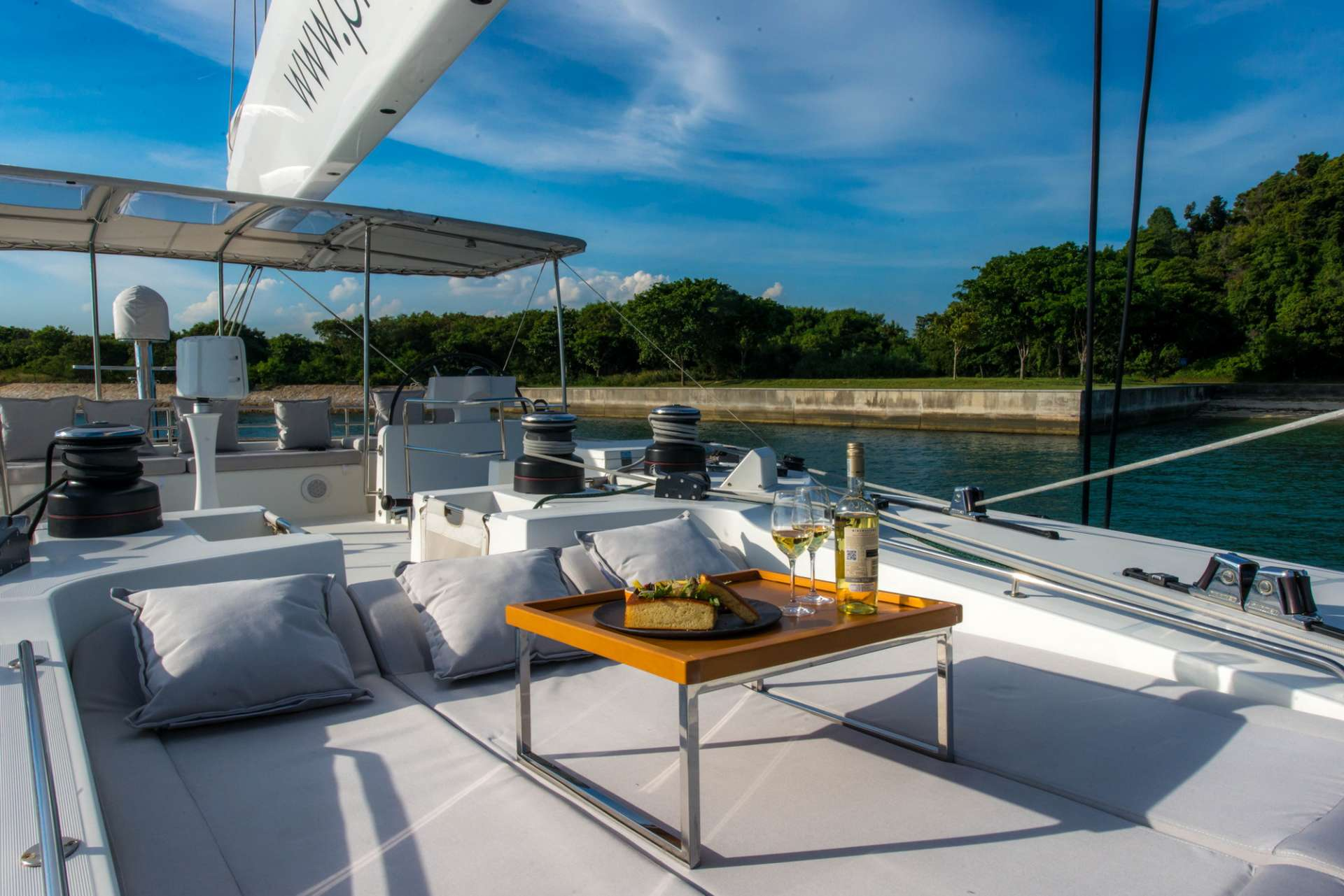 Catamaran Charter Primetime
