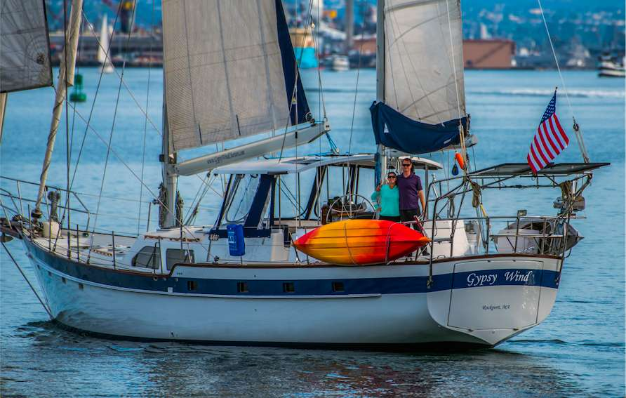 Gypsy Wind - Crewed Sailing Yacht Charter - BoatsAtSea com