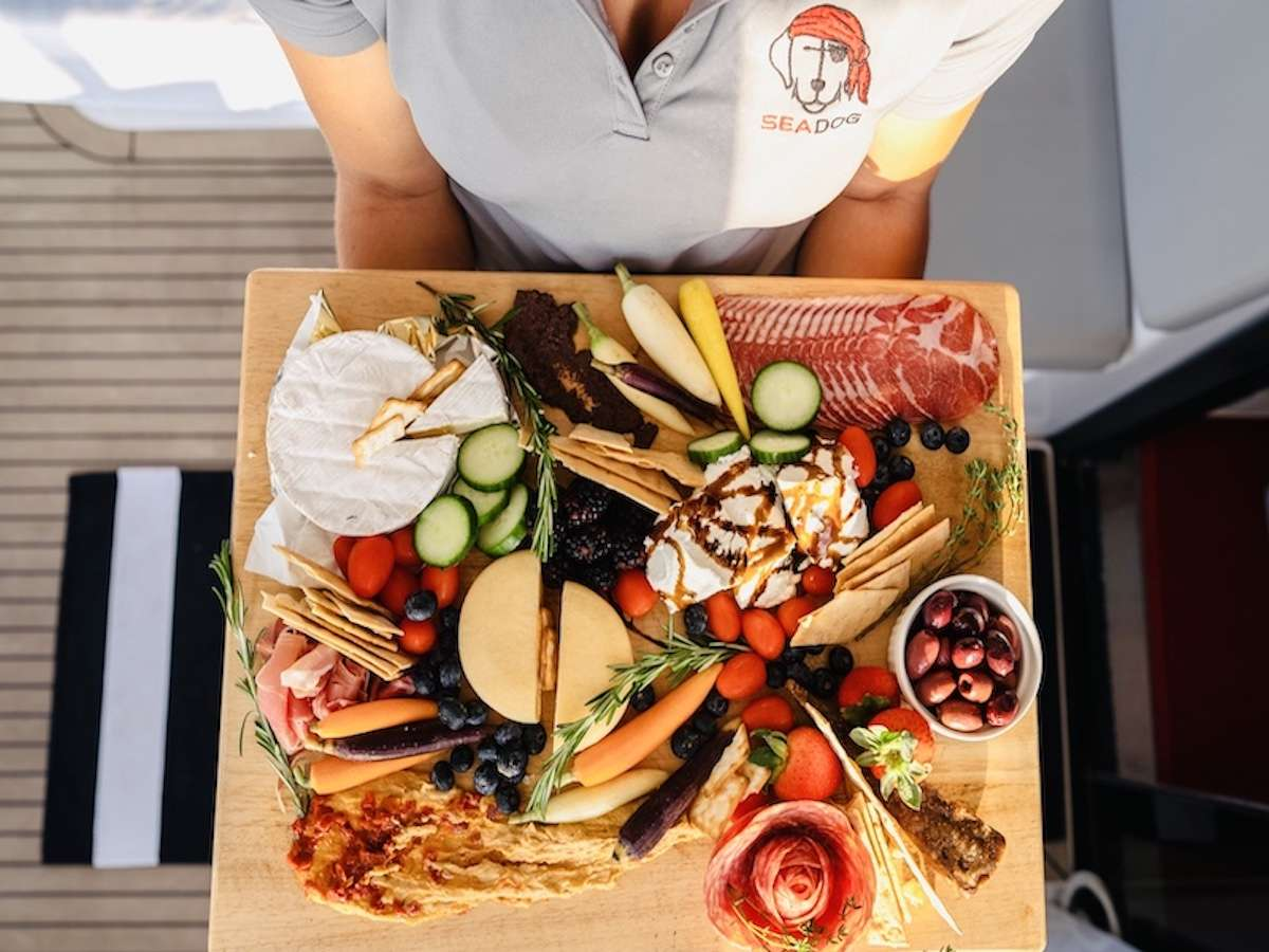 Galley and Lounging Area