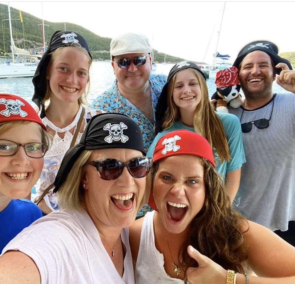 guests onboard catamaran sea dog