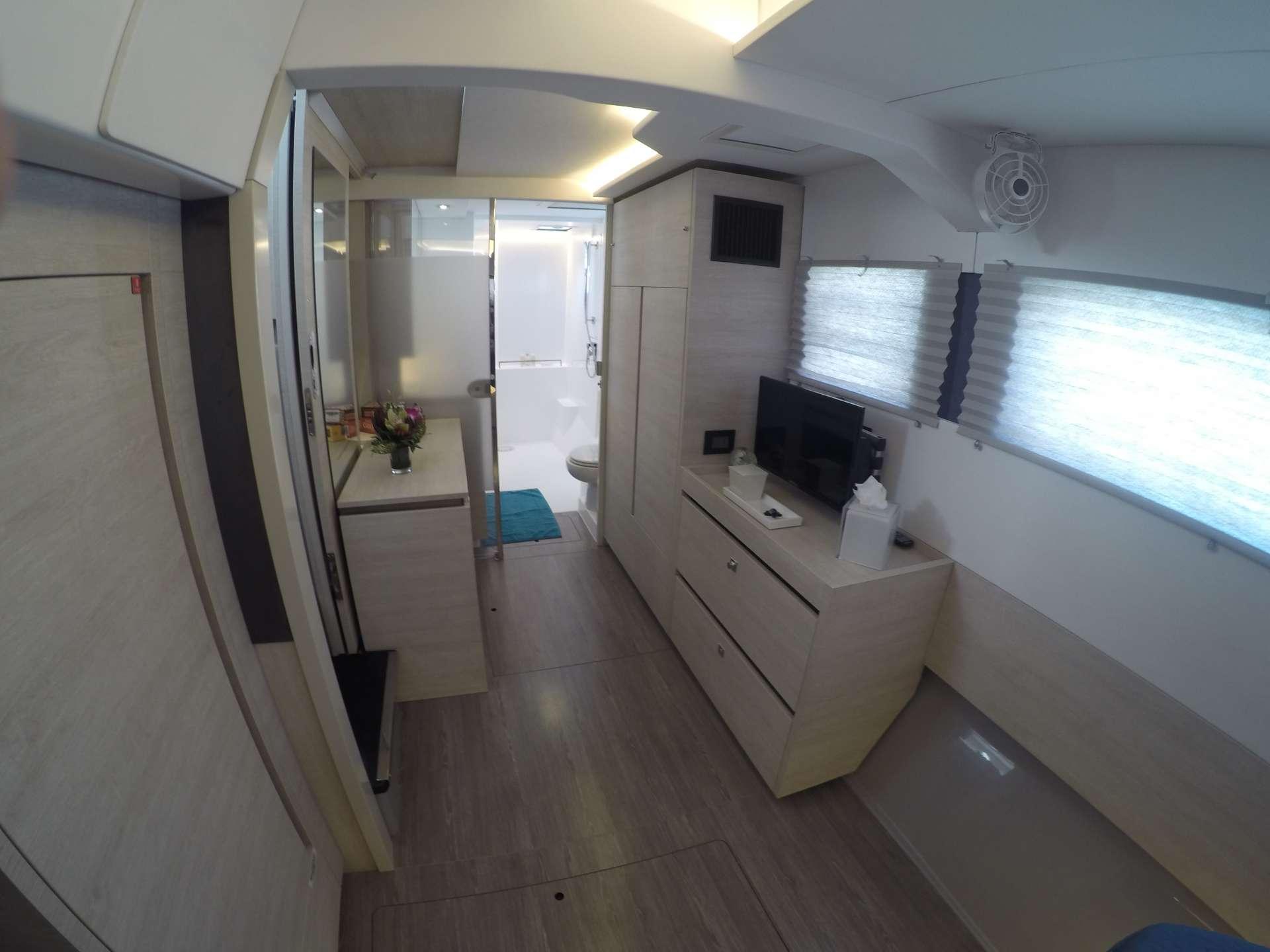Master cabin lounge area