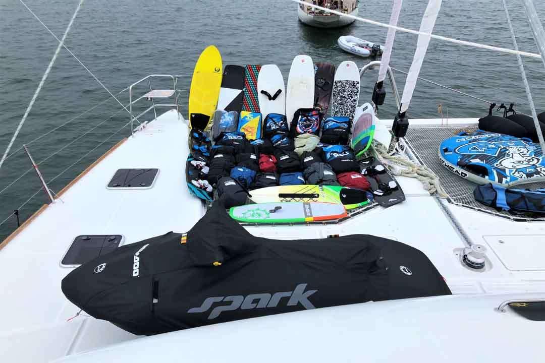 Kite Gear and Jetski
