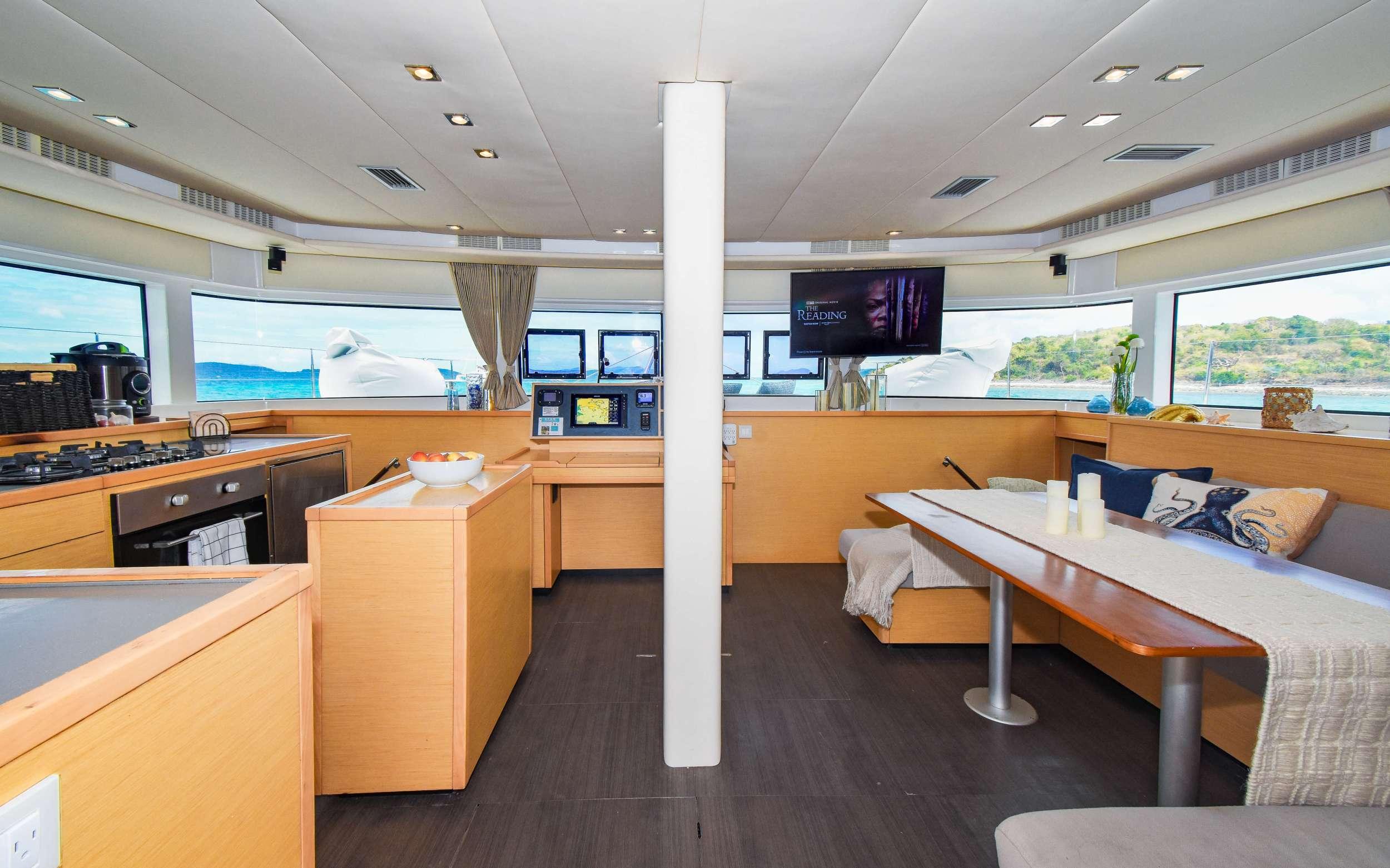 Catamaran Charter Ocelot
