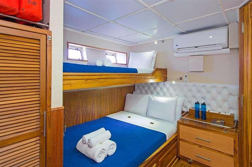 cabin below deck